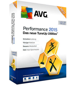 AVG Performance 2015 - TuneUp Utilities 2015 kaufen Download Gutschein-Rabatt
