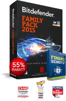 Bitdefender Family Pack 2016 kaufen Rabatt Download.