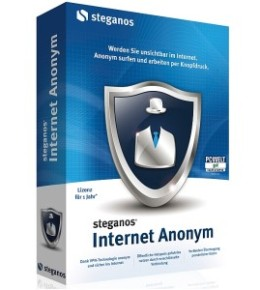 Vollversion: Steganos Internet Anonym kaufen und Download.