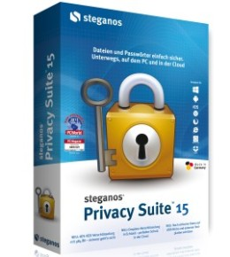 Vollversion: Steganos Privacy Suite 15 günstig kaufen und Download.