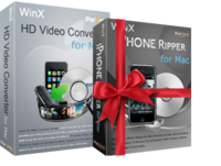WinX HD Video Converter for Mac (+ Free Get DVD to iPhone Ripper) kaufen und downloaden mit Rabatt sowie Gutschein.
